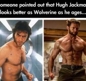 Because He Ages Like Fine Wine