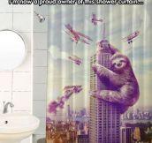 King Sloth Curtain