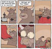 Better Set The Table, Bull