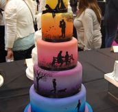 This Cake Tells a Beautiful Story