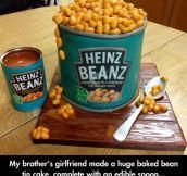 Bean Tin Cake