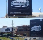 BMW's Ad War