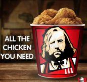 Hound's A Fan Of KFC