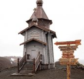 Tiny Church In Antarctica