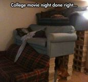 College Movie Nights