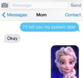 She Found a Chill Way To Reply