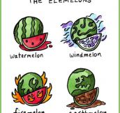 Elements As Melons