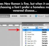 Choosing Classy Fonts