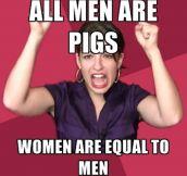 Feminism In a Nutshell