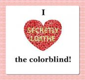 Colorblind Love