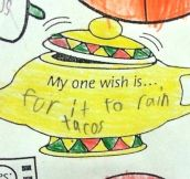 Let's Taco About That Rain, Kid