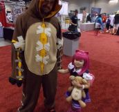 This Father and Daughter Put The 'Play' In Cosplay