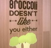 So You Dislike Broccoli