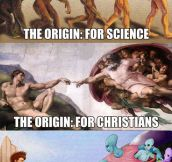 The Origin According To The History Channel