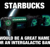 Starbucks In Space