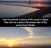 Sunsets Across The World