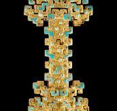 Ancestral Art On a Sword