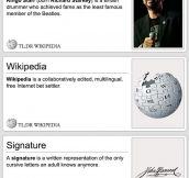 Condensed Wikipedia