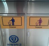What Would Happen If You Use The Wrong Trash Can?