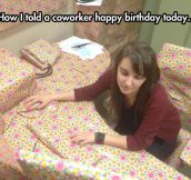 Happy Freaking Birthday