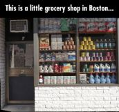 Just a little grocery shop in Boston…Or is it (9 Pics)