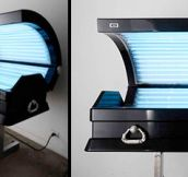 Tanning Bed Coffin (5 Pics)