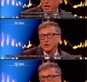 Bill Gates is an amazingly humble man