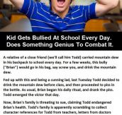 Kids gets bullied at school