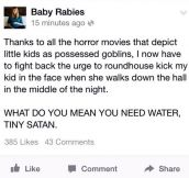 THANKS TO HORROR MOVIES