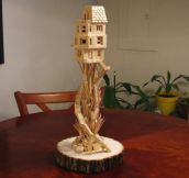 Toothpick Treehouse