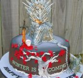 12 Totally Awesome 'Game of Thrones' Cakes