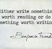 Franklin Knows Best