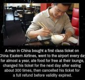 This Guy Deserves a Big Medal