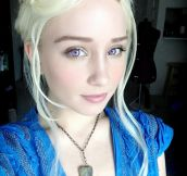 Unbelievable Daenerys Cosplay