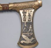 Ceremonial Axe of King Ahmes