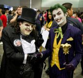 Incredible Joker And Penguin Cosplay