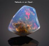 Space In An Opal