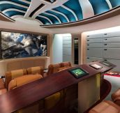 Star Trek Home Theater Room