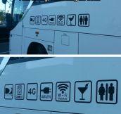 Amazing Bus Perks