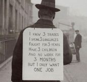 Job Hunting In The Old Days