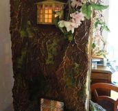 Amazing Miniature Mouse Tree Dolls House