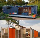 Homes Made From Shipping Containers