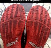Great Shoe Sole Pattern