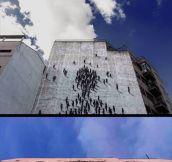 Cool Mural In Madrid, Spain