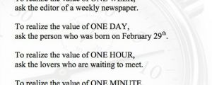 How Much Your Time Is Really Worth