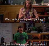 Sheldon's Opinion on Geology