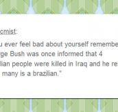 George Bush Stories Never Get Old
