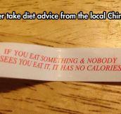 Doubtful Diet Advice