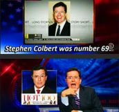 Colbert Finally Made It