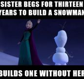 Anna Will Eventually Let It Go